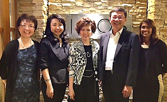 From left: IPO Singapore Executive Director Chiam Lu Lin; Audrey Yap, LES Singapore; Yvonne Chua, Past-President LESI; IPOS Chief Executive Tan Yih San; and Sheena Jacob, President LES Singapore.