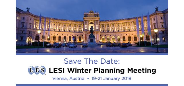 LESI Winter Planning Meeting 2018