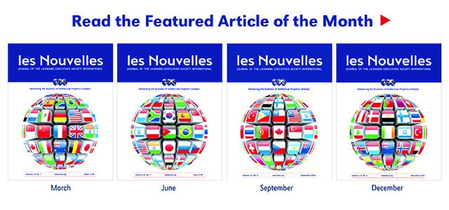 les Nouvelles Article of the Month